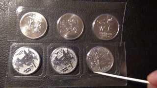 getlinkyoutube.com-Монеты 25 рублей (Сочи,Олимпийские игры)
