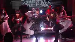 getlinkyoutube.com-BABYMETAL - Gimme Chocolate!! (The Late Show with Stephen Colbert)