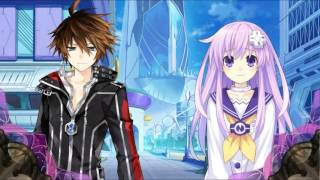 getlinkyoutube.com-Fairy Fencer F PC Edition - Fang saves Nepgear!? (Modded Scene)