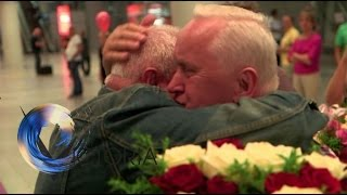 Twins-reunited-after-70-years-apart-BBC-News width=