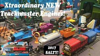 getlinkyoutube.com-Thomas and Friends Toy Train-New Trackmaster Salty!