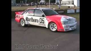 getlinkyoutube.com-Peter Brock Bathurst winner, sideways in the '84 HDT VK Holden at Goodwood Festival of Speed 05