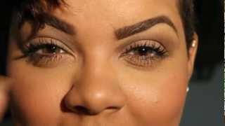 getlinkyoutube.com-Vassen Rainbow Eyes Brownish Hazel Review