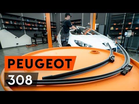 Как заменить передние щётки стеклоочистителя наPEUGEOT 308 1 T7 (4A_, 4C_) (ВИДЕОУРОК AUTODOC)