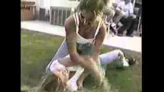 getlinkyoutube.com-White Trash Girl Fight