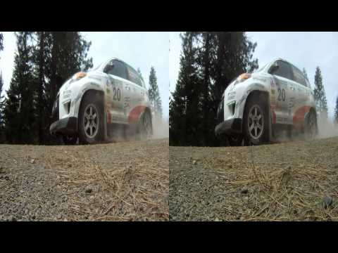 2011 Oregon Trail Rally - Fir Mountain - HD 3D Rally Car Action