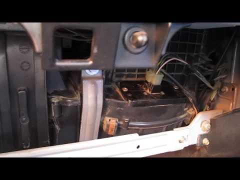 Ремонт печки Rover (регулятора положений)