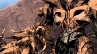 getlinkyoutube.com-TFP: Optimus Prime vs Unicron Avatars