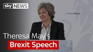 UK Independence Declaration: Theresa May's Brexit speech in full