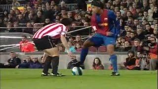 getlinkyoutube.com-Ronaldinho vs Athletic Bilbao 2006/2007 ● Magical Performance