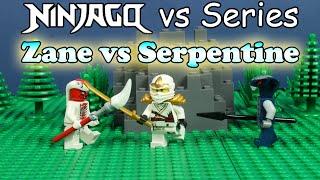 getlinkyoutube.com-LEGO Ninjago: Zane vs Serpentine [Short]