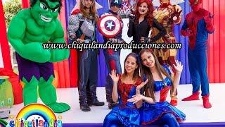 getlinkyoutube.com-Show Infantil de Los Avengers | Show Chiquilandia Producciones
