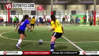 Chicago Star vs. Nacional FC AKD Premier Academy Soccer League Champions Femenil