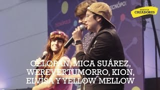getlinkyoutube.com-Celopan, Mica Suárez, Werevertumorro, Kion, Elvisa y Yellow Mellow en Tecnópolis