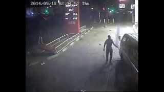 Zimbabwe CCTV catches car crash in Harare