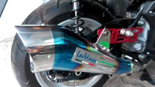 getlinkyoutube.com-Knalpot Racing Leovince Cobra in NMAX 155