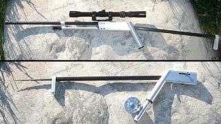 getlinkyoutube.com-Удочка-винтовка Pack-Rifle: Совмести рыбалку с охотой