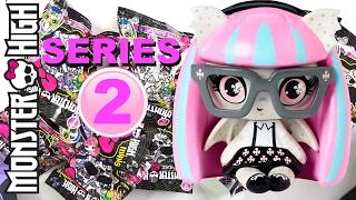getlinkyoutube.com-Monster High Minis SERIES 2 Blind Bag Opening