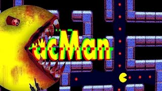 getlinkyoutube.com-Pacman.exe | INSANE CREEPY GHOST JUMPSCARES! PACMAN GONE WRONG!