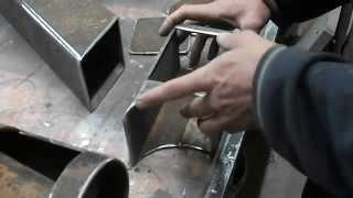 getlinkyoutube.com-Multipodwórko poleca. Piec rakietowy stalowy. Rocket Stove part 1/3. DIY