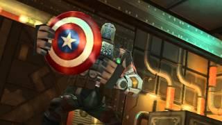 getlinkyoutube.com-Capitán América: Super Soldado - Escenas en Español (Wii)