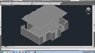 getlinkyoutube.com-Apprendre Autocad en 1h. Tutoriel réalisation Maison 3D