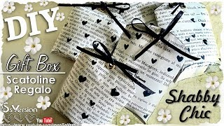 getlinkyoutube.com-Tutorial: Creare Scatoline con i Rotoli della Carta Igienica |Riciclo Creativo| DIY Vintage Gift Box