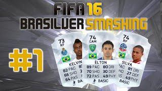 getlinkyoutube.com-FIFA 16 UT - BRASILVER SMASHING #1 - OFF TO A GOOD START