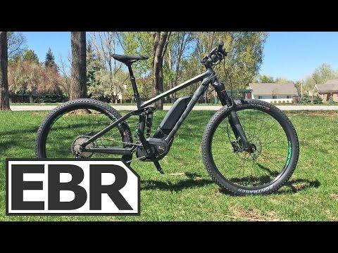 Trek Powerfly 8 FS Plus Video Review - Full Suspension Electric Trail Bike