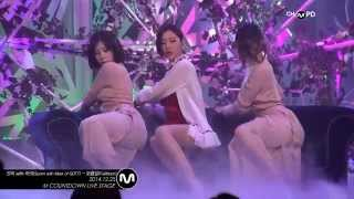 [MPD/직캠] 141225 Sunmi with Mark of GOT7(선미 with 마크) - Full Moon(보름달)