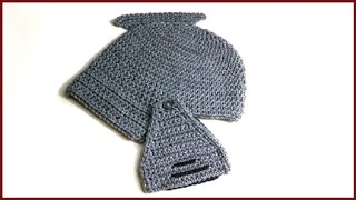 getlinkyoutube.com-How to crochet Gladiator Knight in Shining Armor Hat