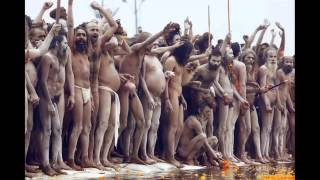 getlinkyoutube.com-Kumbh Mela 2016, Naga Sadhu Procession And Bath