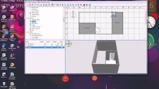 getlinkyoutube.com-การใช้งานโปรแกรม SWEET HOME 3D