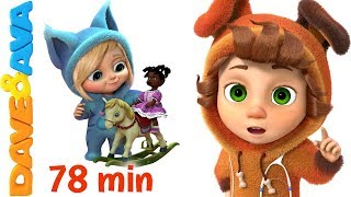 getlinkyoutube.com-❤ Nursery Rhymes Collection | Rhymes for Children and Baby Songs from Dave and Ava ❤