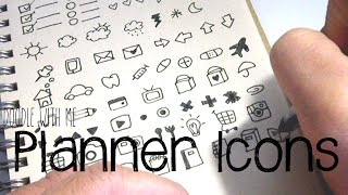 getlinkyoutube.com-Doodle with Me: Planner Icons