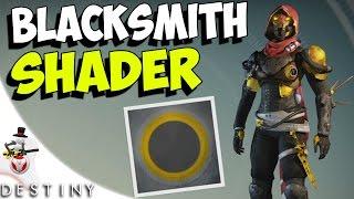 getlinkyoutube.com-Destiny -  BLACKSMITH SHADER