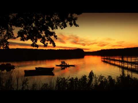 [HD 720p] Time Lapse - Sunset at a lake in Chojno