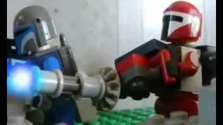 getlinkyoutube.com-Lego Star Wars Bitwa o Mandalorę