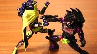 getlinkyoutube.com-LVUR04 仮面ライダーゲンム アクションゲーマー現る!ストップモーション Masked Rider EXAID stop motion