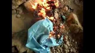 getlinkyoutube.com-Dirndl brennt (2) Burning Dress