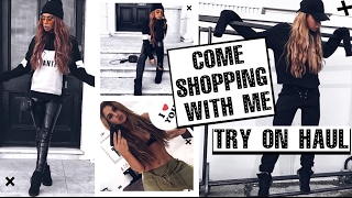 getlinkyoutube.com-Come Shopping with me! - BOOHOO edition TRY ON clothing haul!
