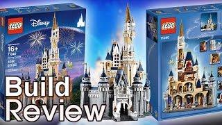 getlinkyoutube.com-[Live] 레고 디즈니 캐슬 71040 조립 과정 리뷰 LEGO The Disney Castle Build Review