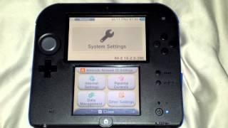 getlinkyoutube.com-Nintendo 2DS rxtools latest emunand 10.2 autoboot