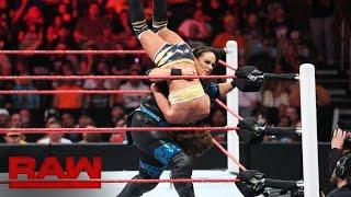 Nia Jax vs. a local competitor: Raw, July 25, 2016