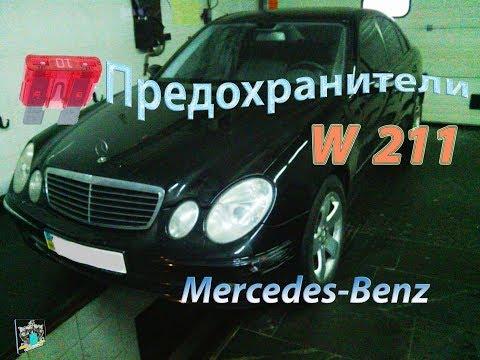 Расположение моторчика омывателя лобового стекла у Mercedes-Benz Г