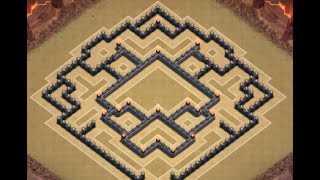 getlinkyoutube.com-EPIC+BEST Town Hall Level 10 Trophy Base for Clash of Clans