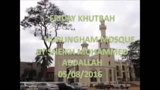 getlinkyoutube.com-Kumpenda mtume S A W 05 08 2016 by Sheikh Mohammed Abdallah  Hurlingham Mosque