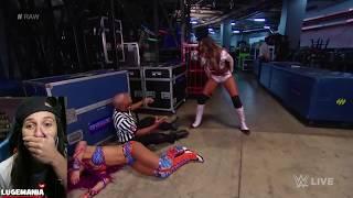 WWE-Raw-101617-Alicia-Fox-being-crazy-backstage width=