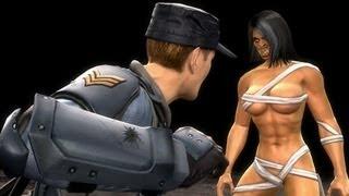 getlinkyoutube.com-Mortal Kombat Komplete PC Stryker Ladder Playthrough