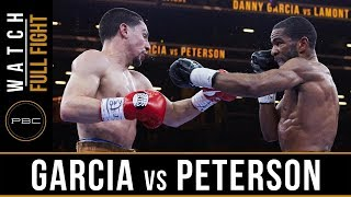FULL FIGHT: Danny Garcia vs Lamont Peterson - 4/11/15 - PBC on NBC